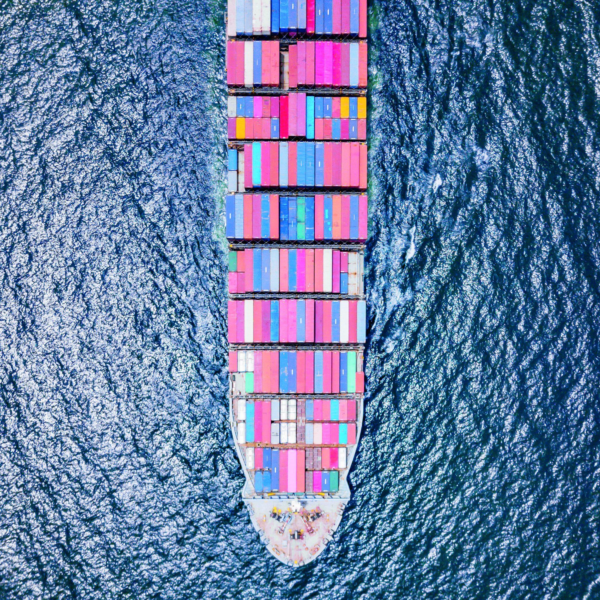 Om containerverliezen op zee te voorkomen moeten de eisen aan sjorsystemen, containers en het beladingsinstrumentarium van containerschepen worden herzien. (Stockfoto)