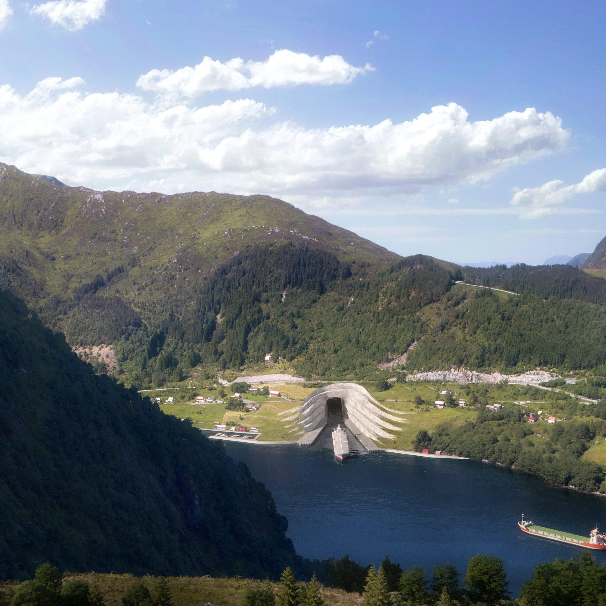 De ingang aan de Kjoldepolden-kant (Illustratie NCA / Snoh etta)