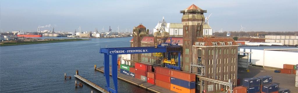 De terminal van CTVrede in Zaandam (Foto CTVrede)