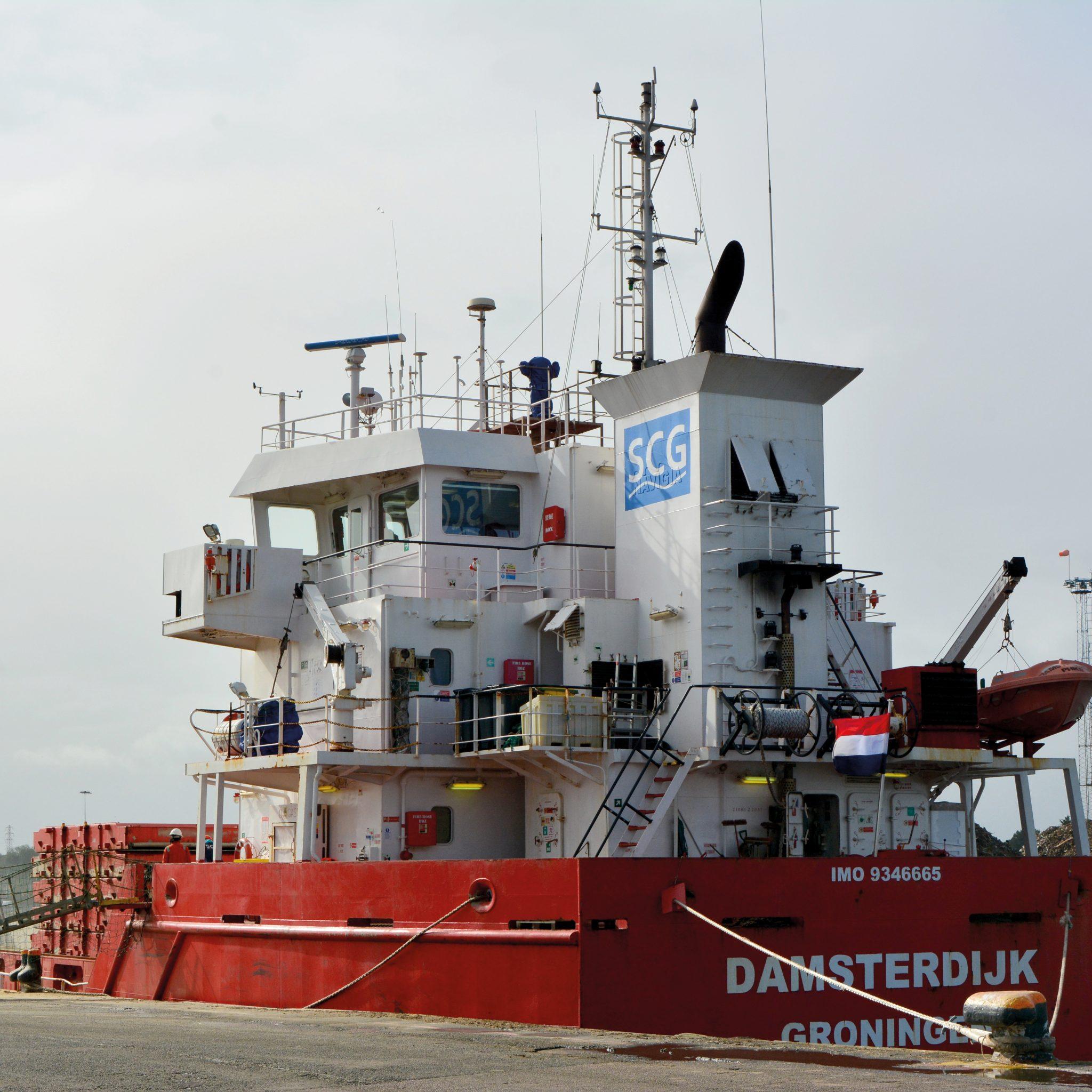 De Damsterdijk (Foto OVV)