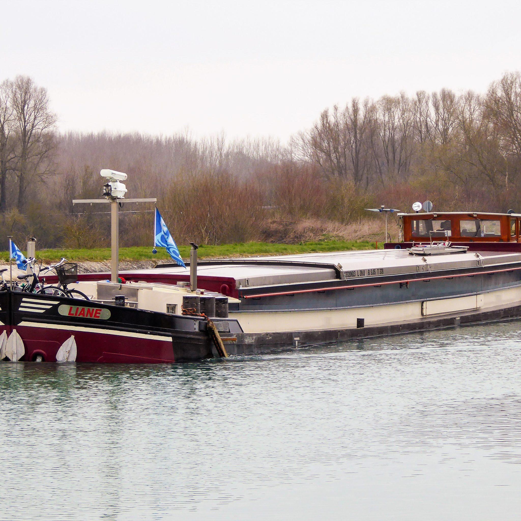 De spits Liane van Frans en Liane Rennings was in 2018 het eerste droge-ladingschip met een EU Stage V-motor.