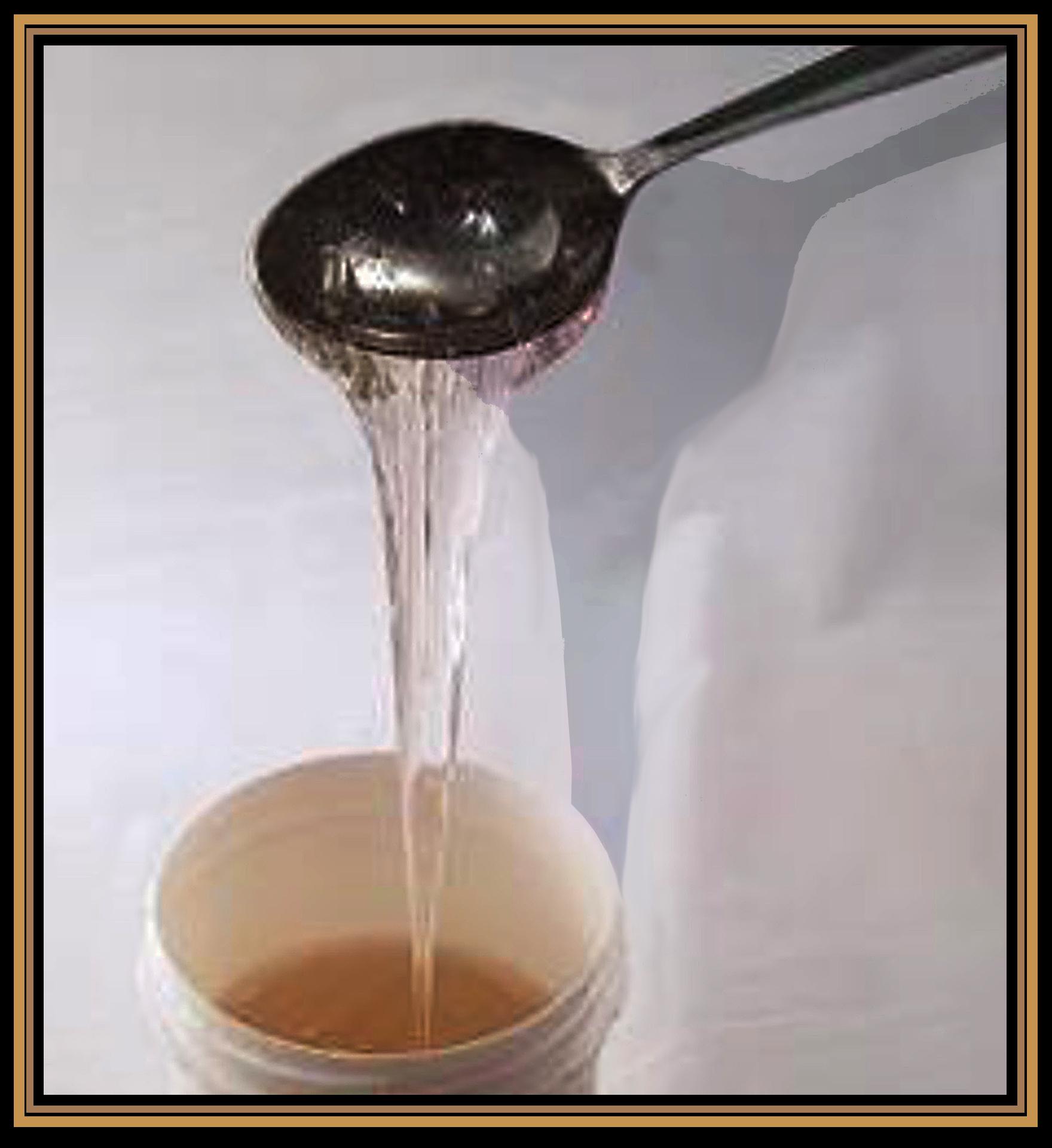 Om waterglas uit te smeren krijgt waterglas ongeveer de stroperigheid van honing. Om gaten dicht te stoppen wordt waterglas een stuk steviger aangebracht.