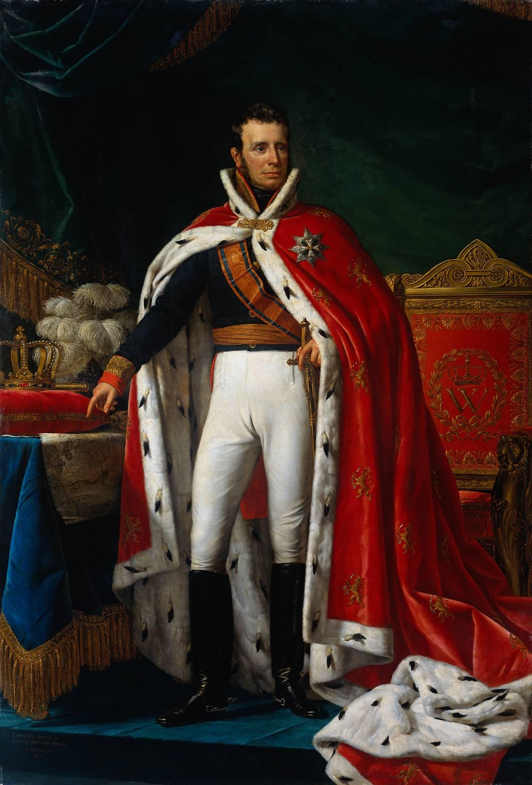 De 'kanalenkoning' was de bijnaam van Koning Willem I (Foto Wikipedia)
