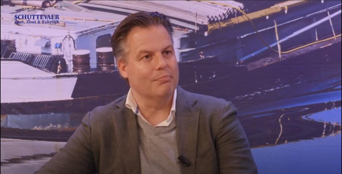 Marco van Beek in de aflevering van Studio Schuttevaer. (Beeld uit video)
