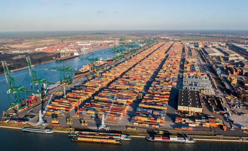 Containerterminals in de haven van Antwerpen (Foto Port of Antwerp)