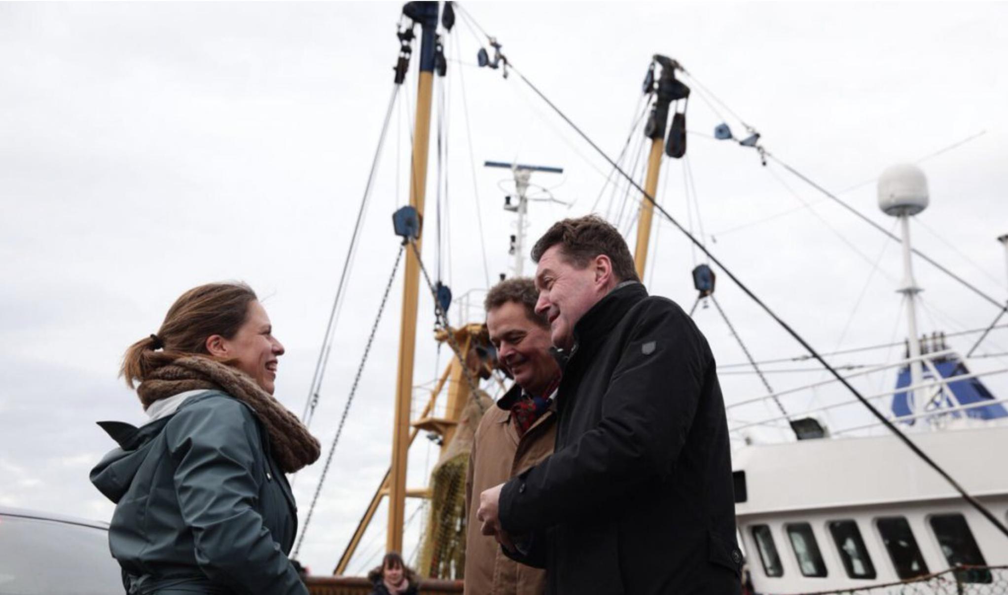 Ook voor 'de betrokken vissers' is het een tegenslag, zegt Carola Schouten
