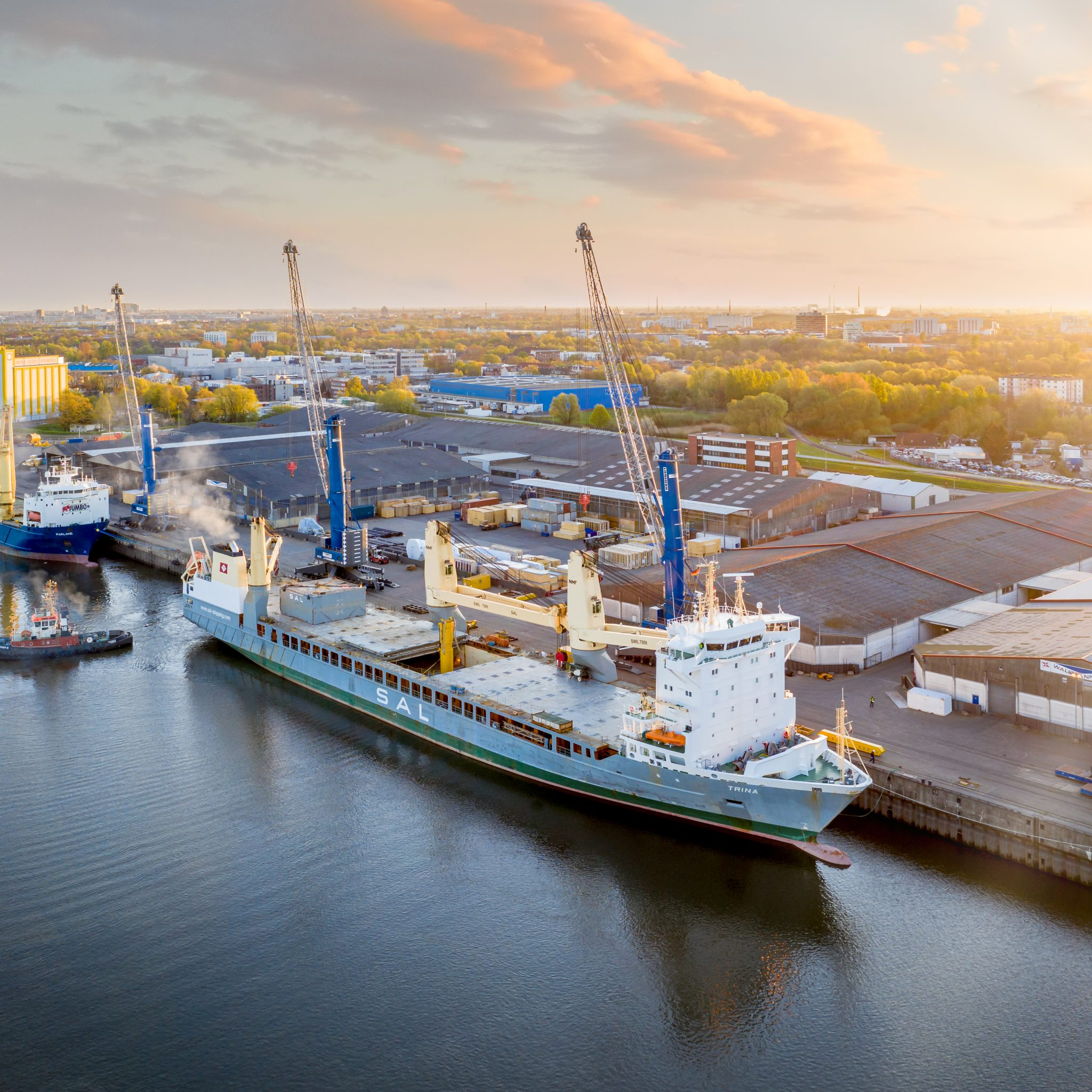De Trina van SAL wordt onderdeel van de samengestelde vloot (Foto SAL Heavy Lift)