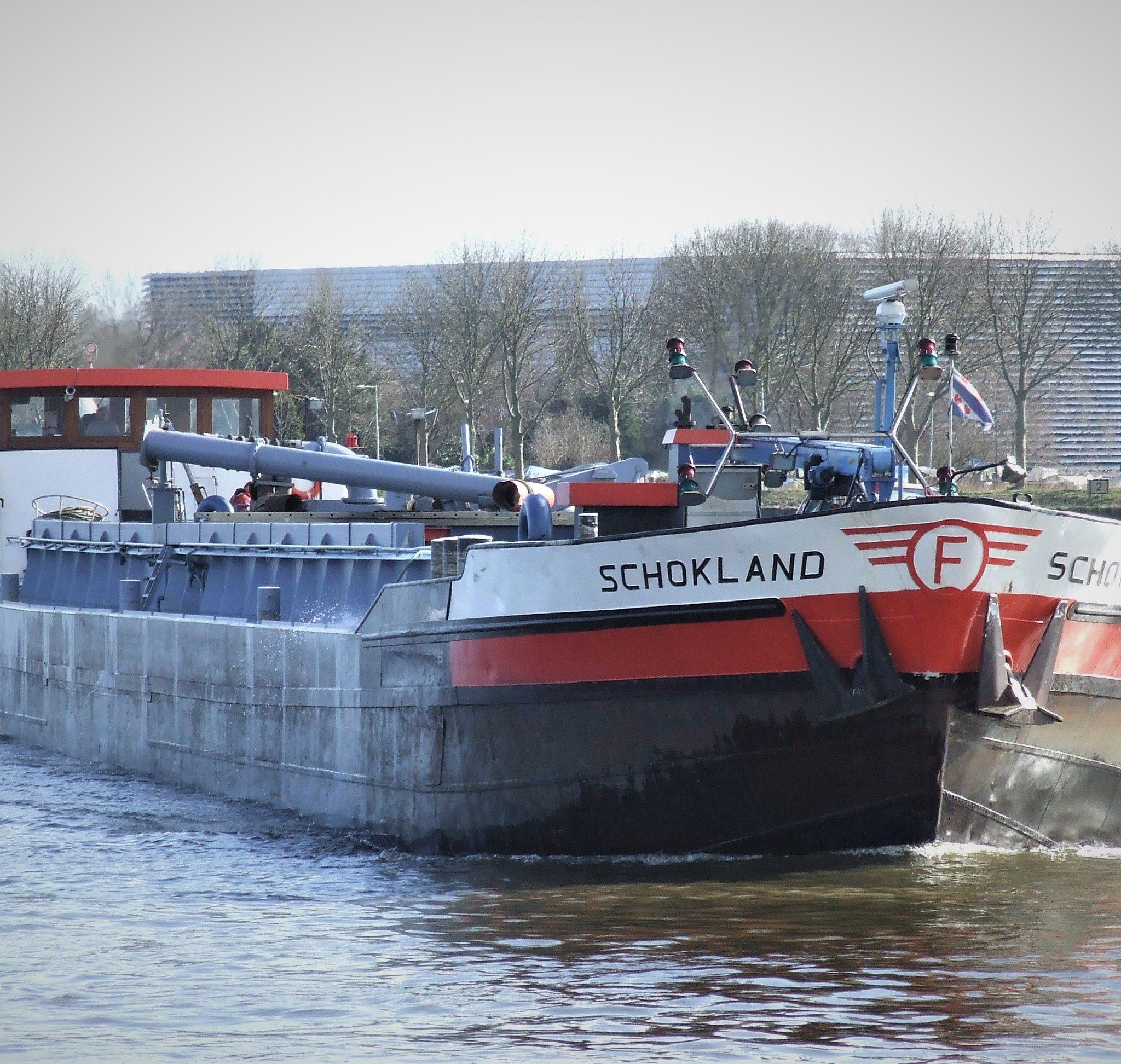 De Schokland is gesloopt in Kampen. (Foto R.H. Mulder)