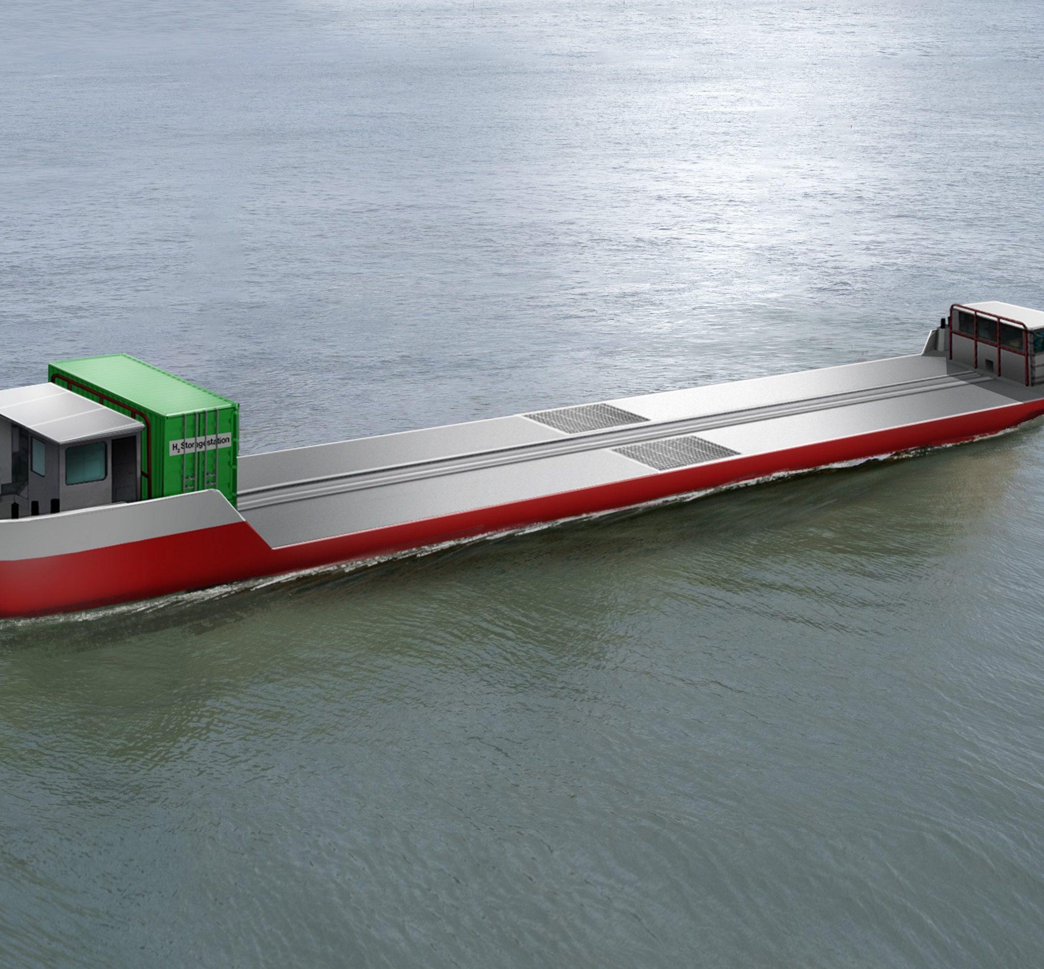 Het ontwerp van de in aanbouw zijnde Zulu 06. (Beeld BLL)