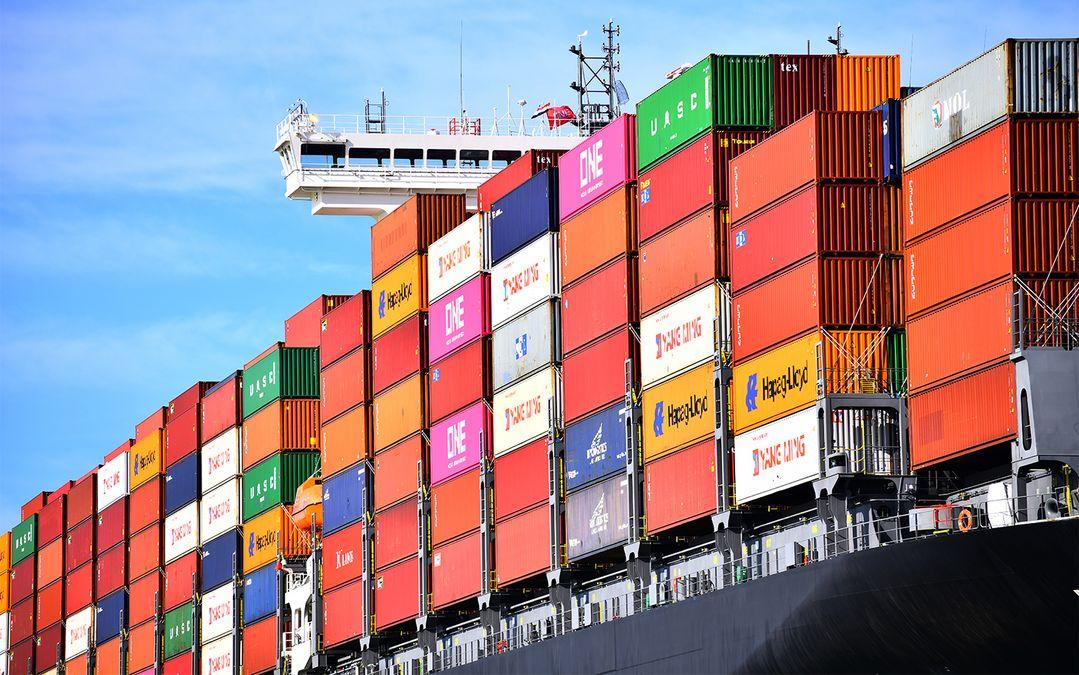 De goederenoverslag in de haven van Rotterdam is in het eerste kwartaal van 2021 met 3 procent gestegen. Foto Port of Rotterdam/Danny Cornelissen