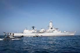 Het patrouilleschip Zr.Ms. Van Speijk. (Foto Koninklijke Marine)