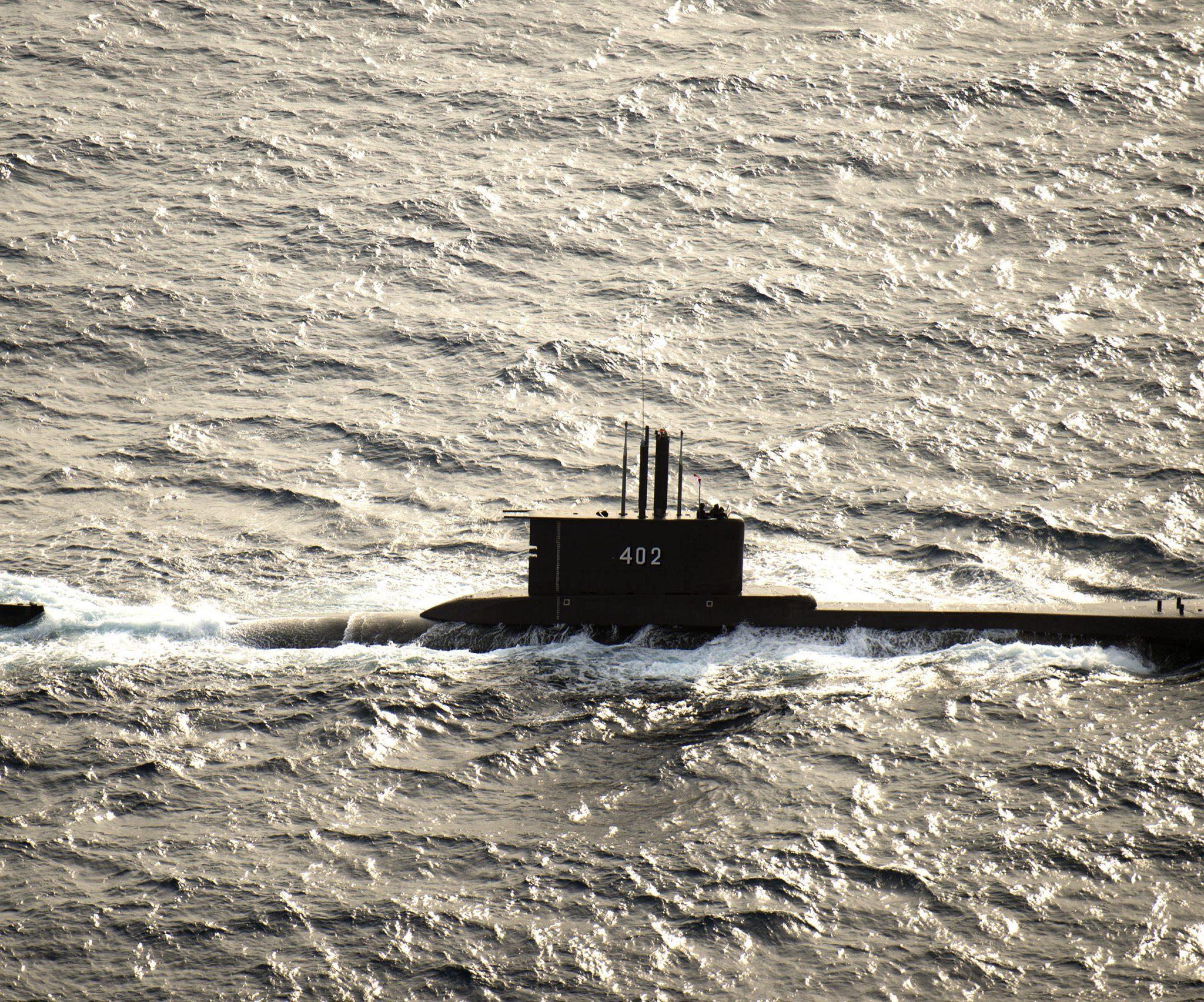 De 44 jaar oude KRI Nanggala-402 verdween woensdag van de rader, op zo'n 95 kilometer van de kust van Bali. Foto Wikipedia