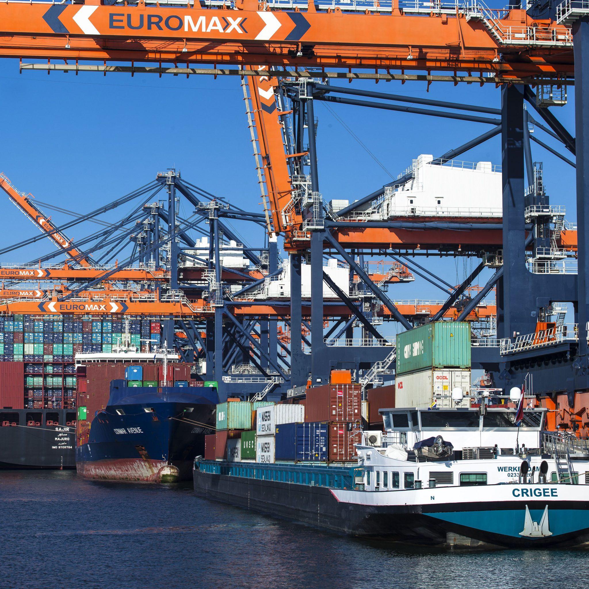 Containerbinnenvaart Euromax
