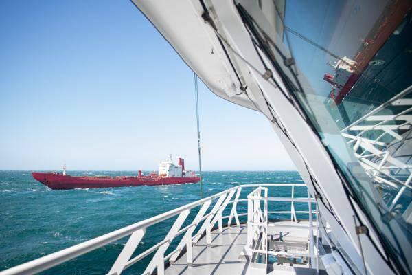 De Varzuga op drift (Foto Precture Maritime)
