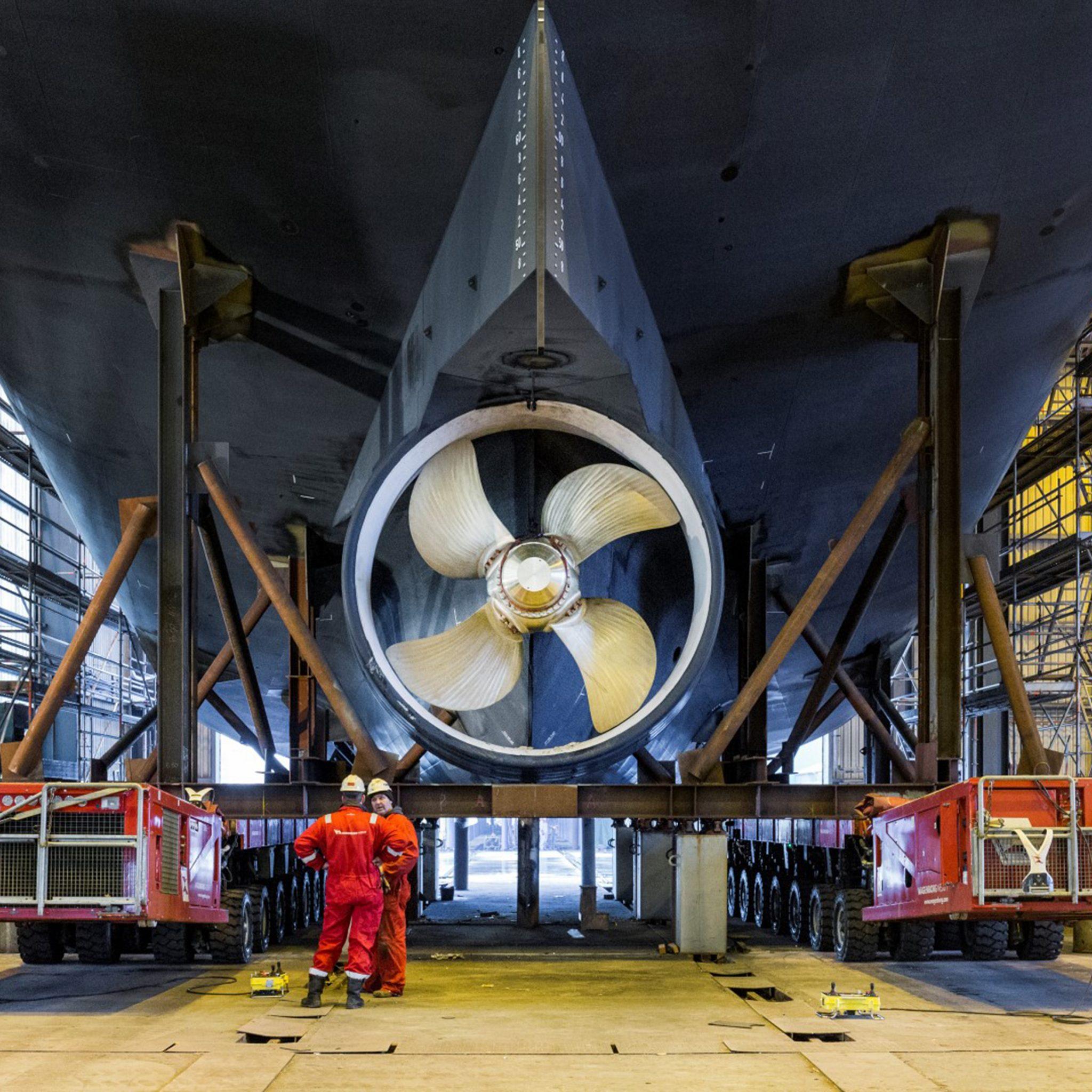 Een installatie van Berg Propulsion. (Fotograaf Guus van der Linde).