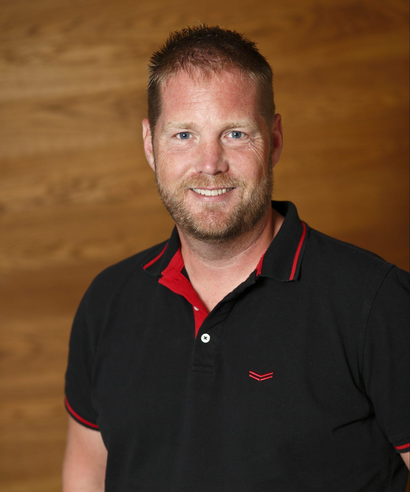Senior areamanager Hero Bouwman.
