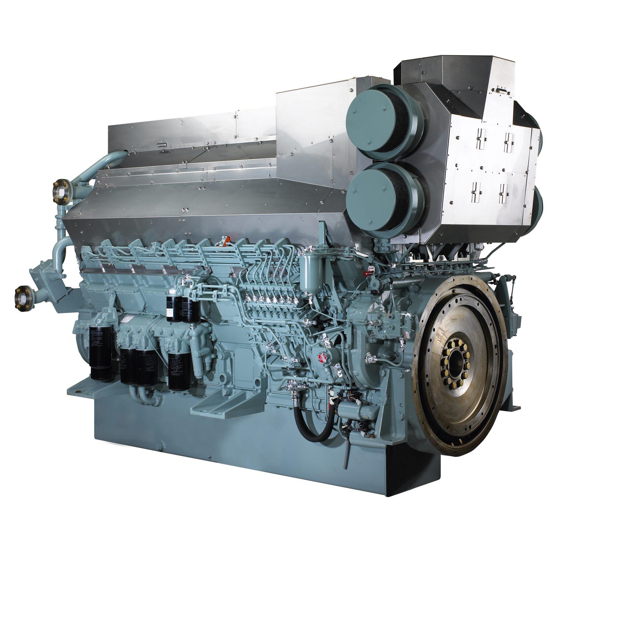 De S16R2-T2MPTAW met een vermogen van 1568 kW bij 1200 toeren wint aan populariteit. Foto MTEE