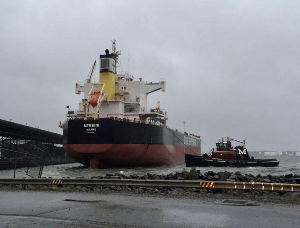 Diana Shipping heeft de Myrsini verhuurd voor 27.750 dollar per dag.
