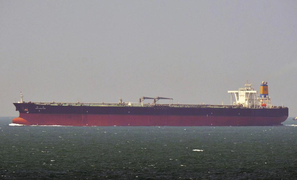 De Griekse rederij Thenamaris kocht de VLCC New Creation en liet haar voor $ 37,5 miljoen opknappen.