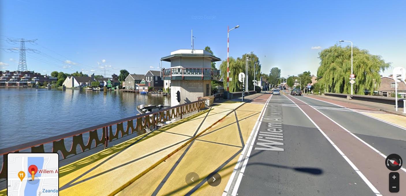 De Willem Alexanderbrug in Zaandam. (Foto Twitter)