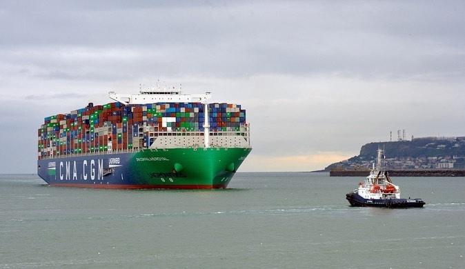 Een van de negen 23.000 teu schepen van CMA CGM waarvan het zevende vorige week aan de vloot werd toegevoegd. (Foto CMA CGM)