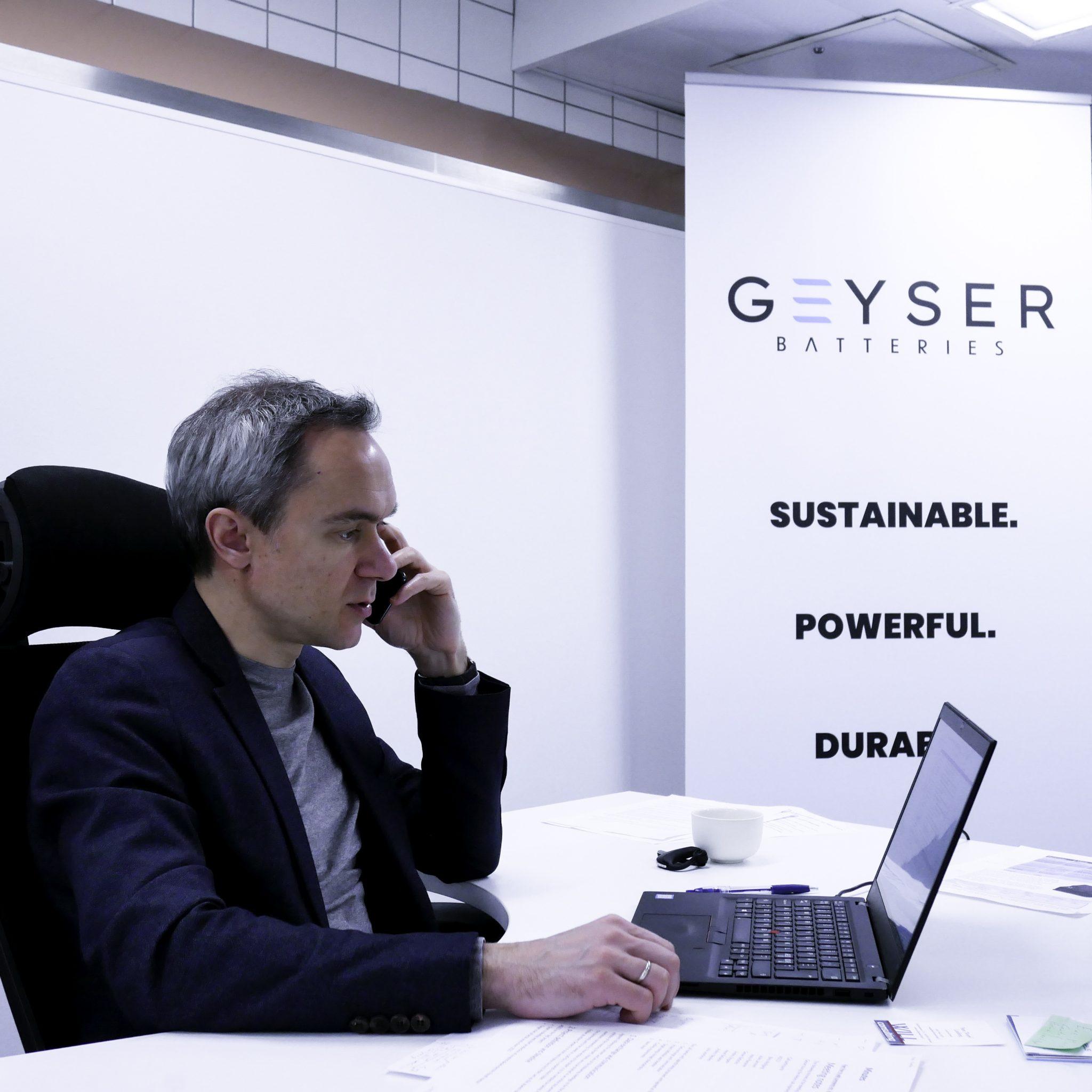 CEO Andrey Shigayev Van Geyser Batteries: 'Onze accu's gaan een scheepsleven mee en hoeven in een schip niet op een makkelijk bereikbare plek te worden opgeslagen. (Foto Geyser Batteries)