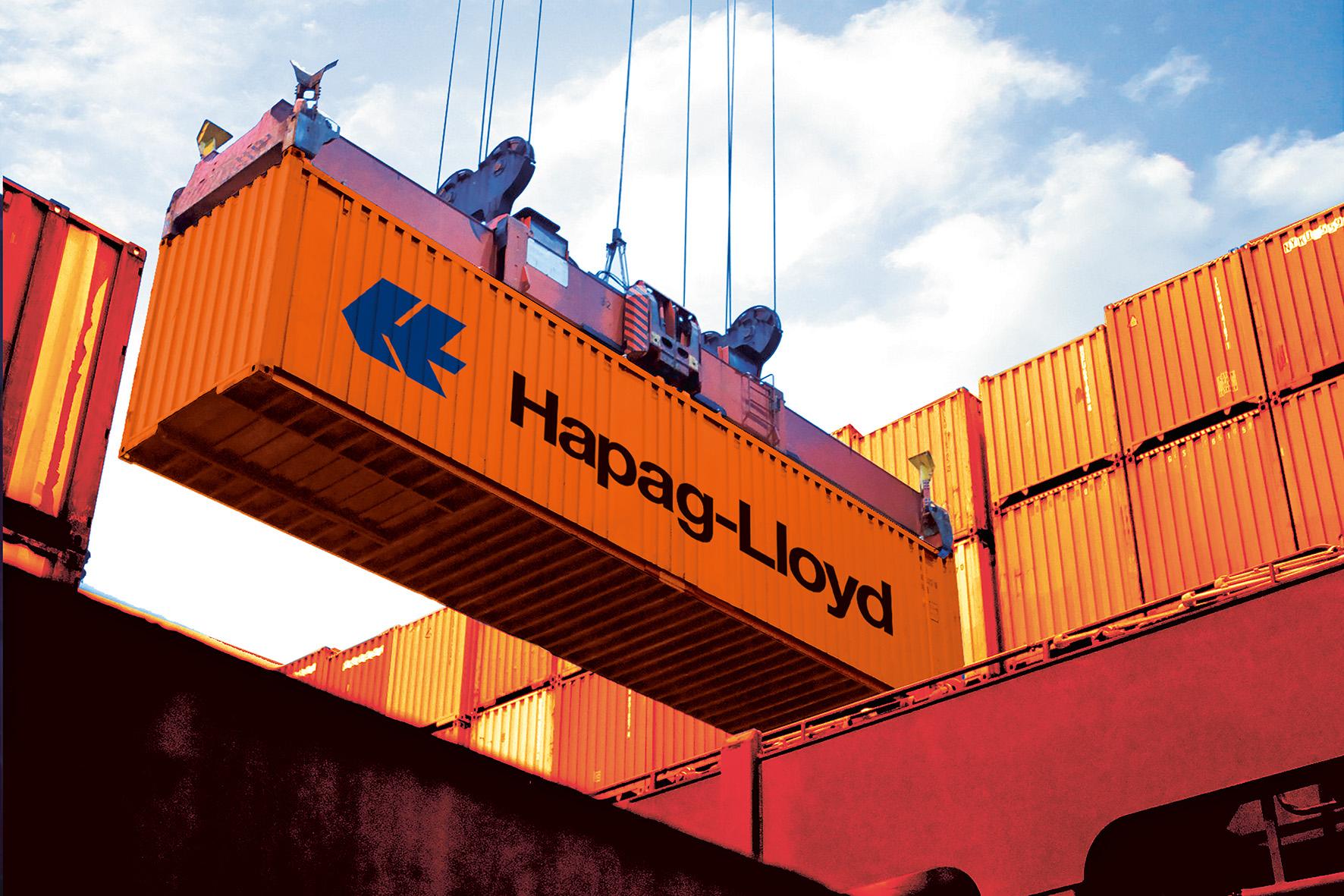 De 241 schepen van de rederij uit Hamburg kunnen samen 1,7 miljoen TEU aan containers vervoeren.