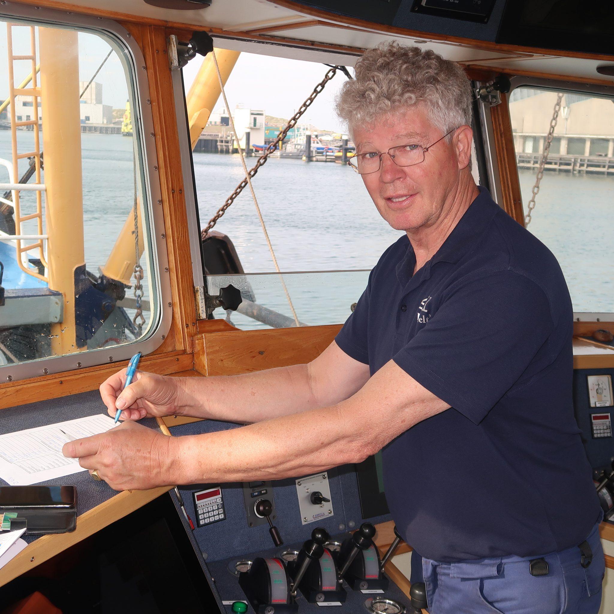 Danny Bout van de Z-431: 'Ik mag wel zeggen dat we ingeburgerd zijn in Oostende.' (Foto W.M. den Heijer)