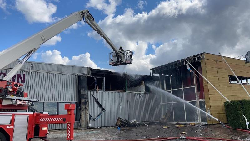 De brand in Werkendam bleek niet voort te komen uit een misdrijf, aldus de politie.