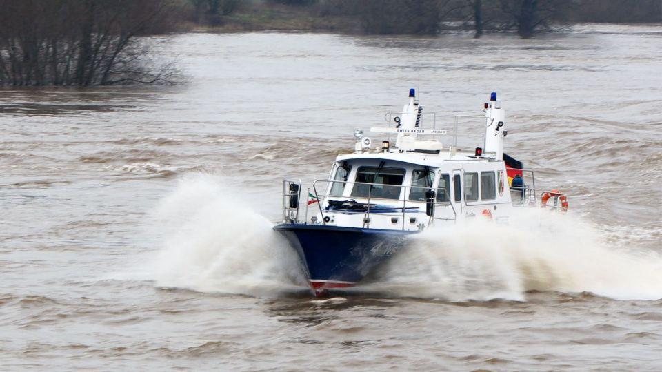 Wasserschutzpolizei. (Foto politie NRW)