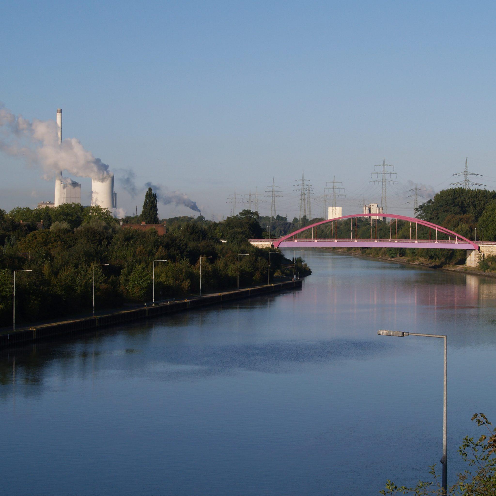 Het Rijn-Hernekanaal. (Foto Wikipedia)