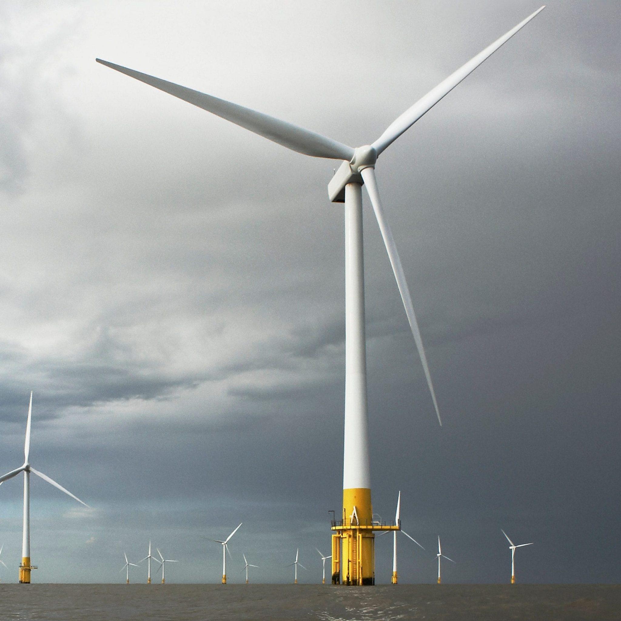 Offshore Windpark Egmond aan Zee. (Foto NoordZeeWind)