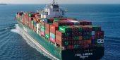 De Ital Libera vaart al twee maanden rond met de dode kapitein aan boord. (Foto MarineTraffic)