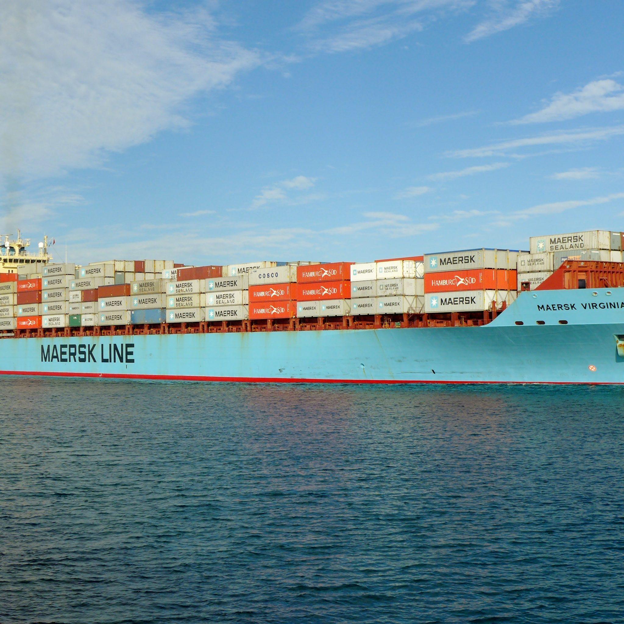 De Maersk Virginia. (Foto Wikipedia)