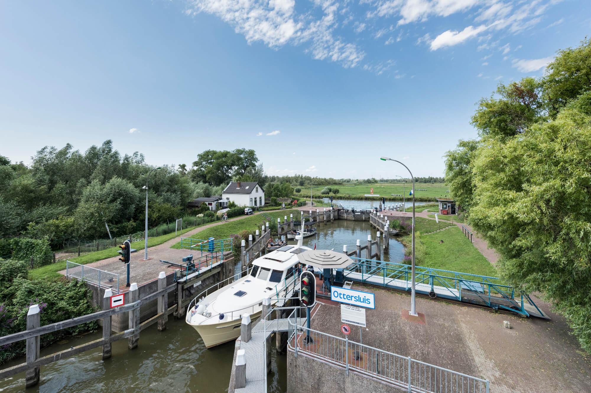 De Ottersluis is sinds 2015 een gemeentelijk monument (Foto Rijkswaterstaat)