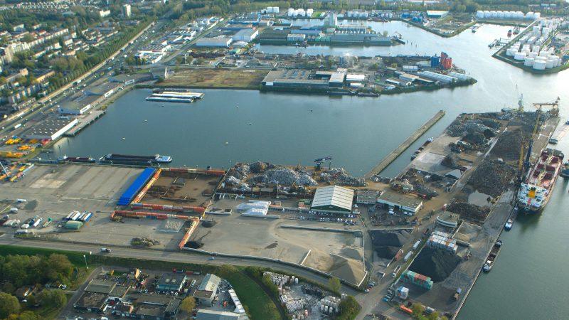 Ter illustratie de Wilhelminahaven in Dordrecht. (Foto NT)