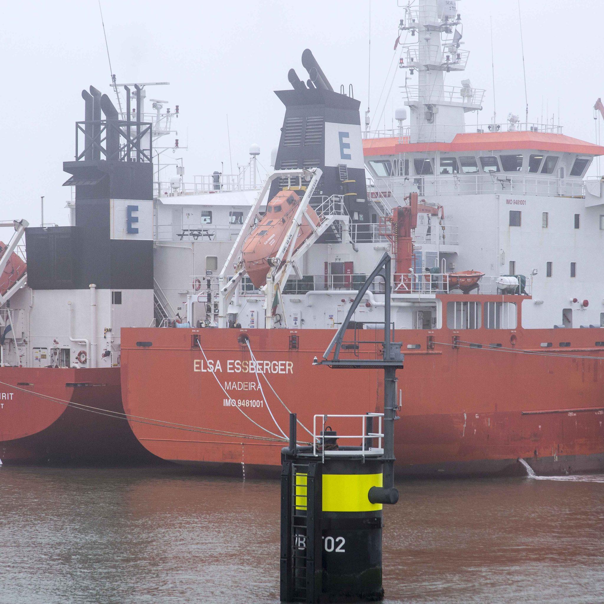 Zonder de drie schepen bestaat de vloot van Essberger nog uit 31 schepen. (Foto Essberger)