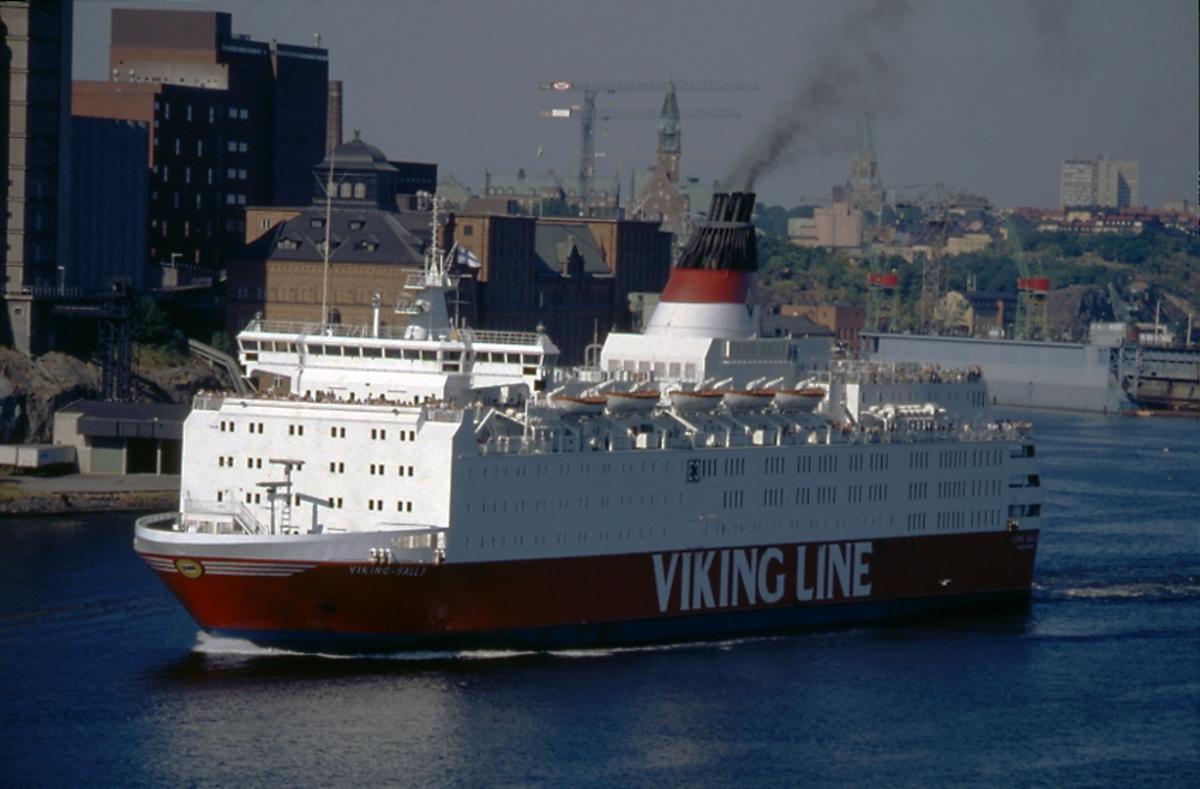 Het plaats delict, de Viking Sally. (Foto Wikipedia)
