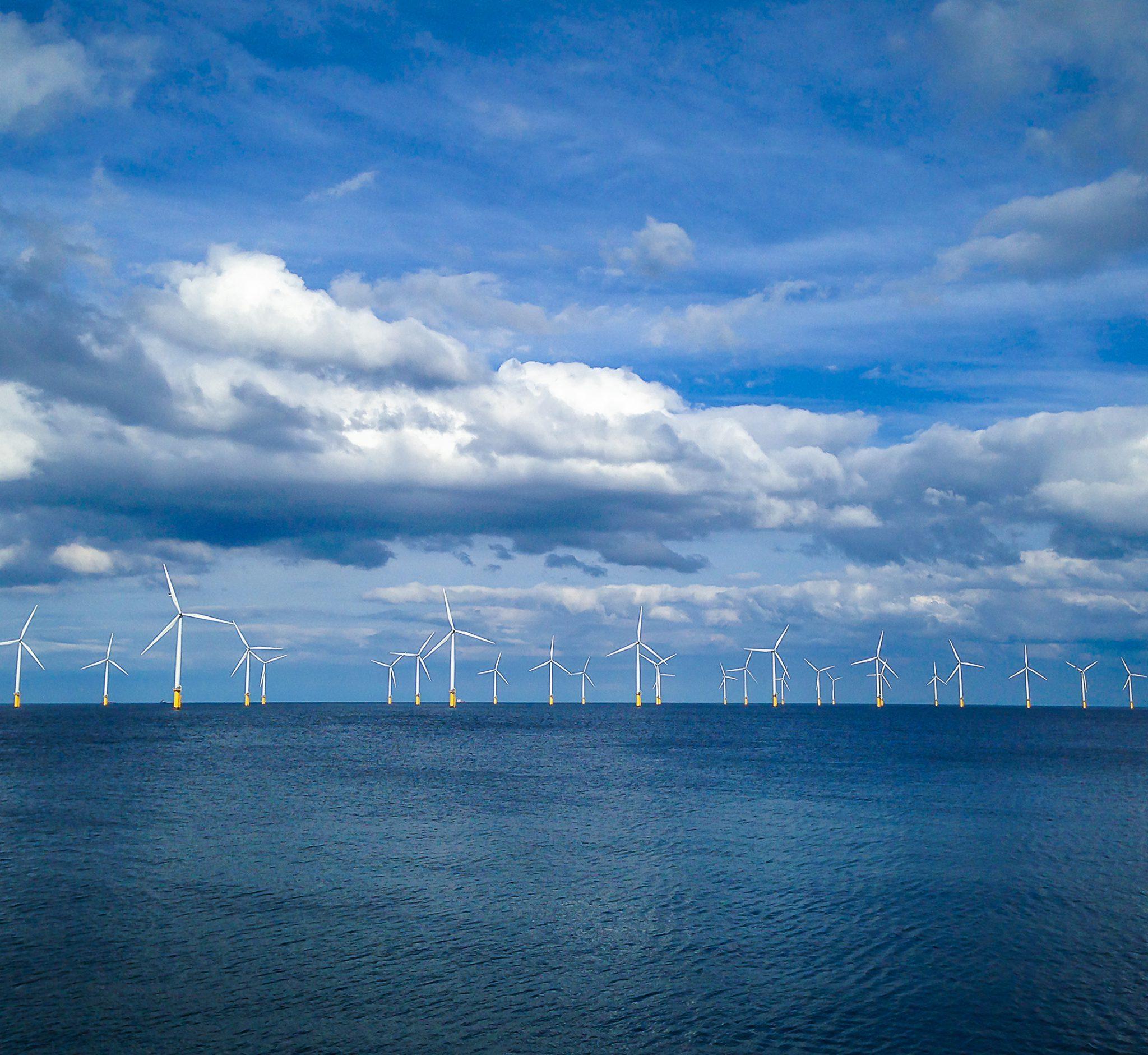 In 2040 zal 15% van de Noordzee uit windparken bestaan (Foto North Sea Energy)
