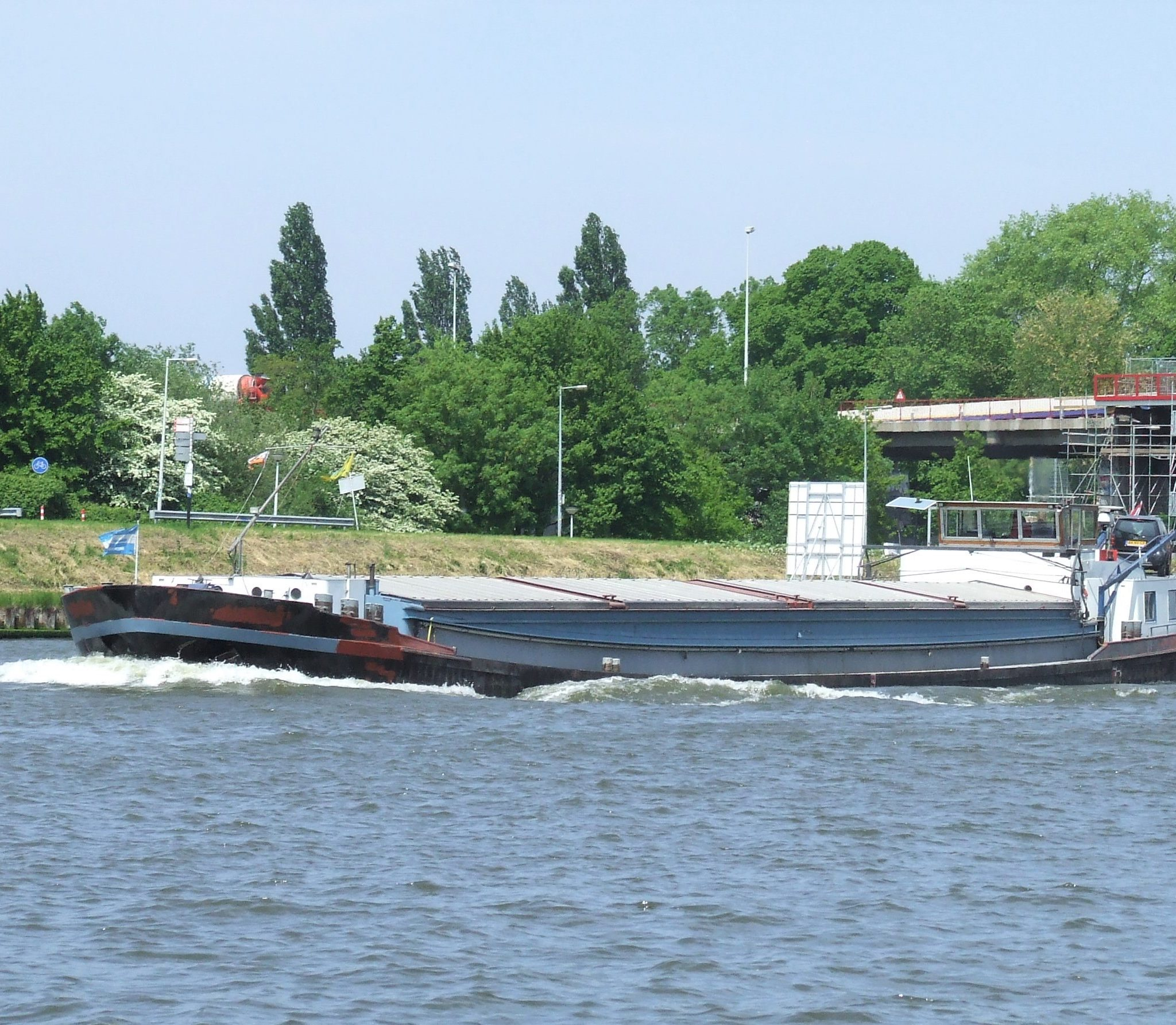 De Interverlina uit 1962 heeft haar laatste reis naar Haarlem gemaakt. (Foto R.H. Mulder)