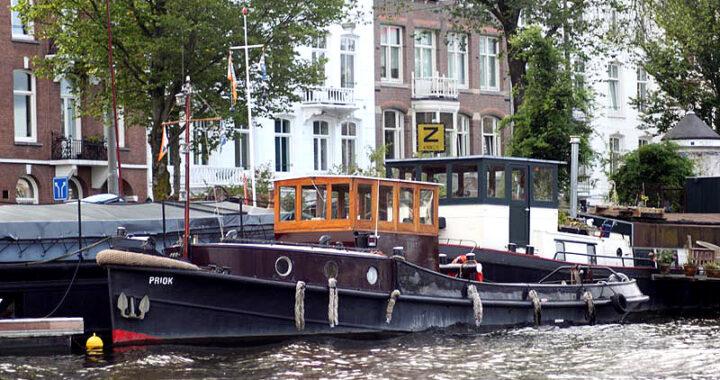 Ontheffing van duurzaamheidseisen voor varend erfgoed in Amsterdam. (Foto FVEN)
