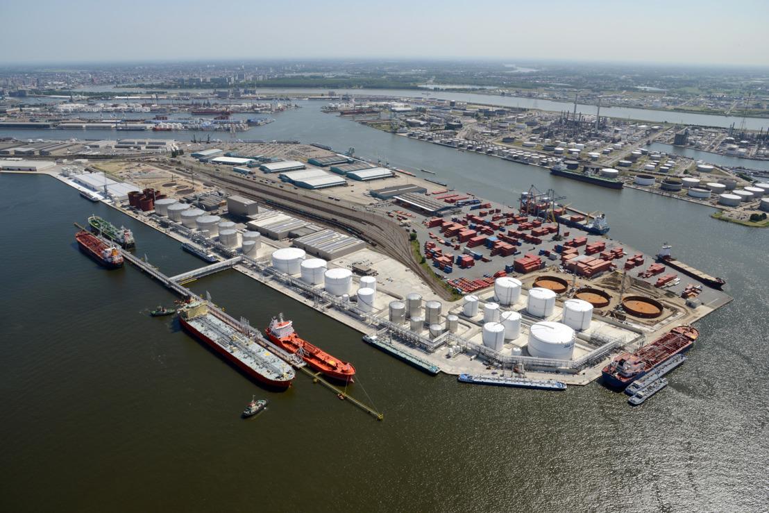De met chloor vervuilde diesel ging naar België om bijgemengd te worden bij stookolie. (Foto Port of Antwerp)