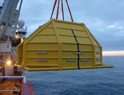 Wintershall Noordzee voert de werkzaamheden uit. (Foto Wintershall)