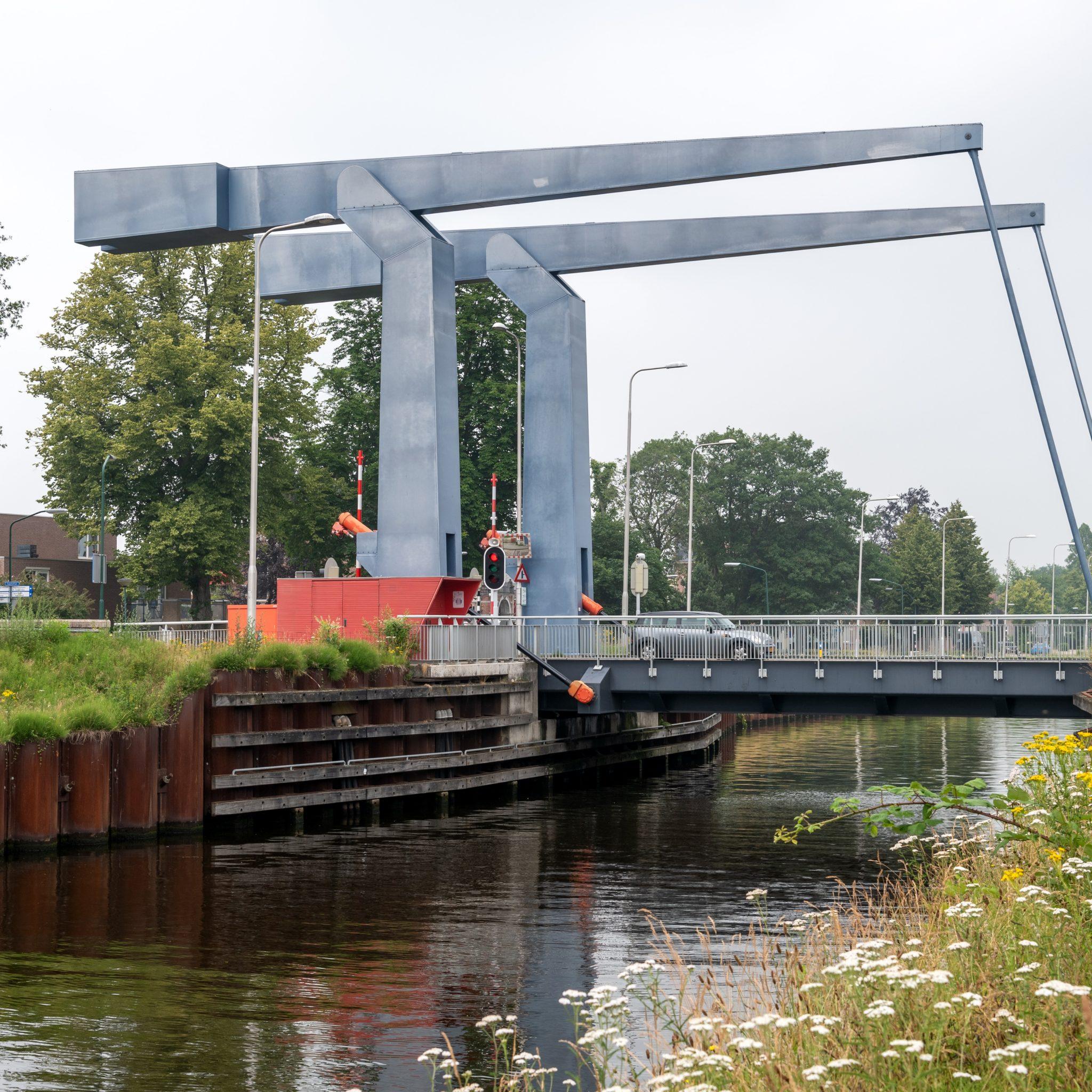 De Donkse Brug zal bediend gaan worden vanuit Tilburg. (Foto Rijkswaterstaat)
