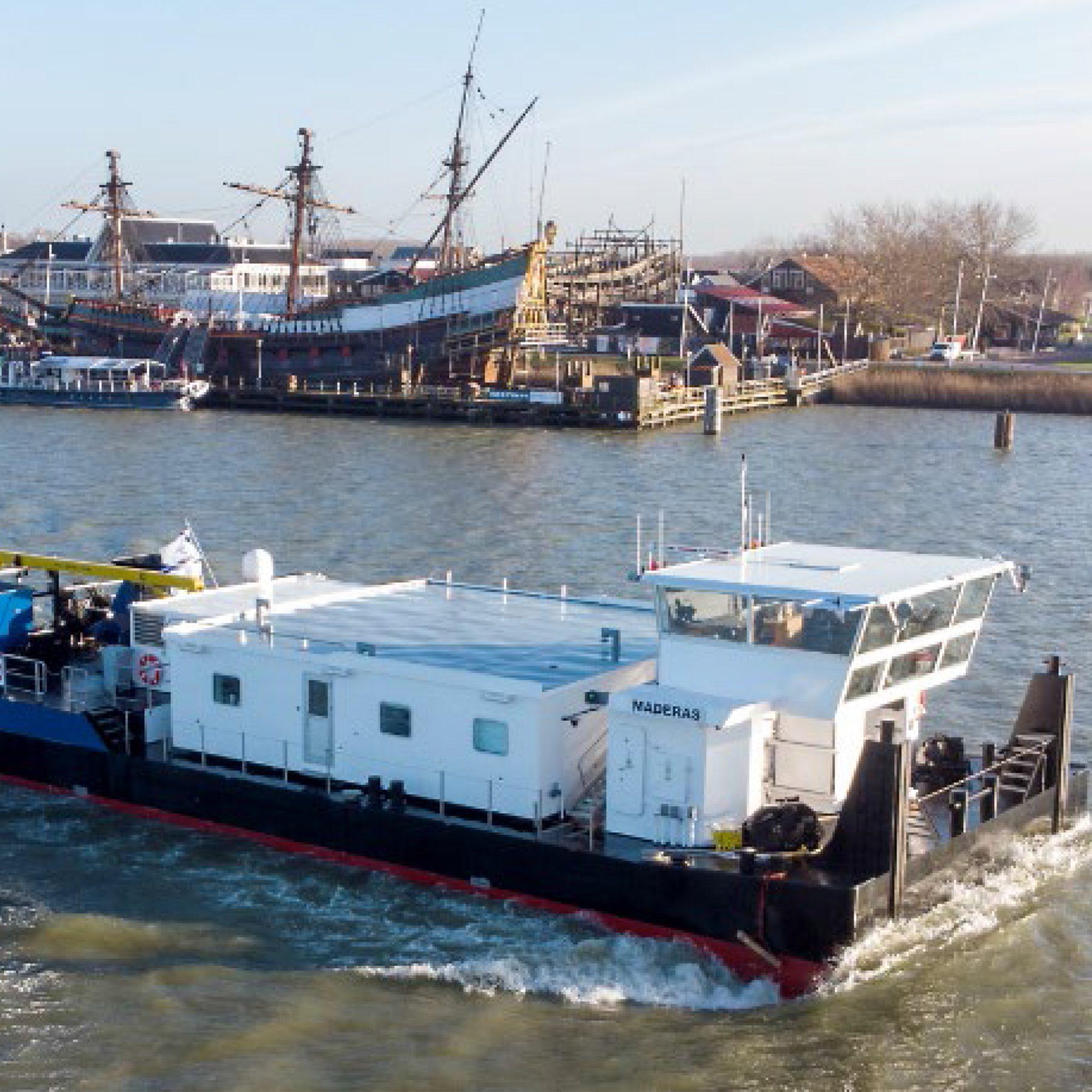 De diesel-elektrische BN354 Muria was de laatste van drie nieuwe duwboten voor Chemgas Shipping. In mei van dit jaar leverde Barkmeijer al de zusterschepen Maderas en Merapi op. (Foto Barkmeijer Shipyards)