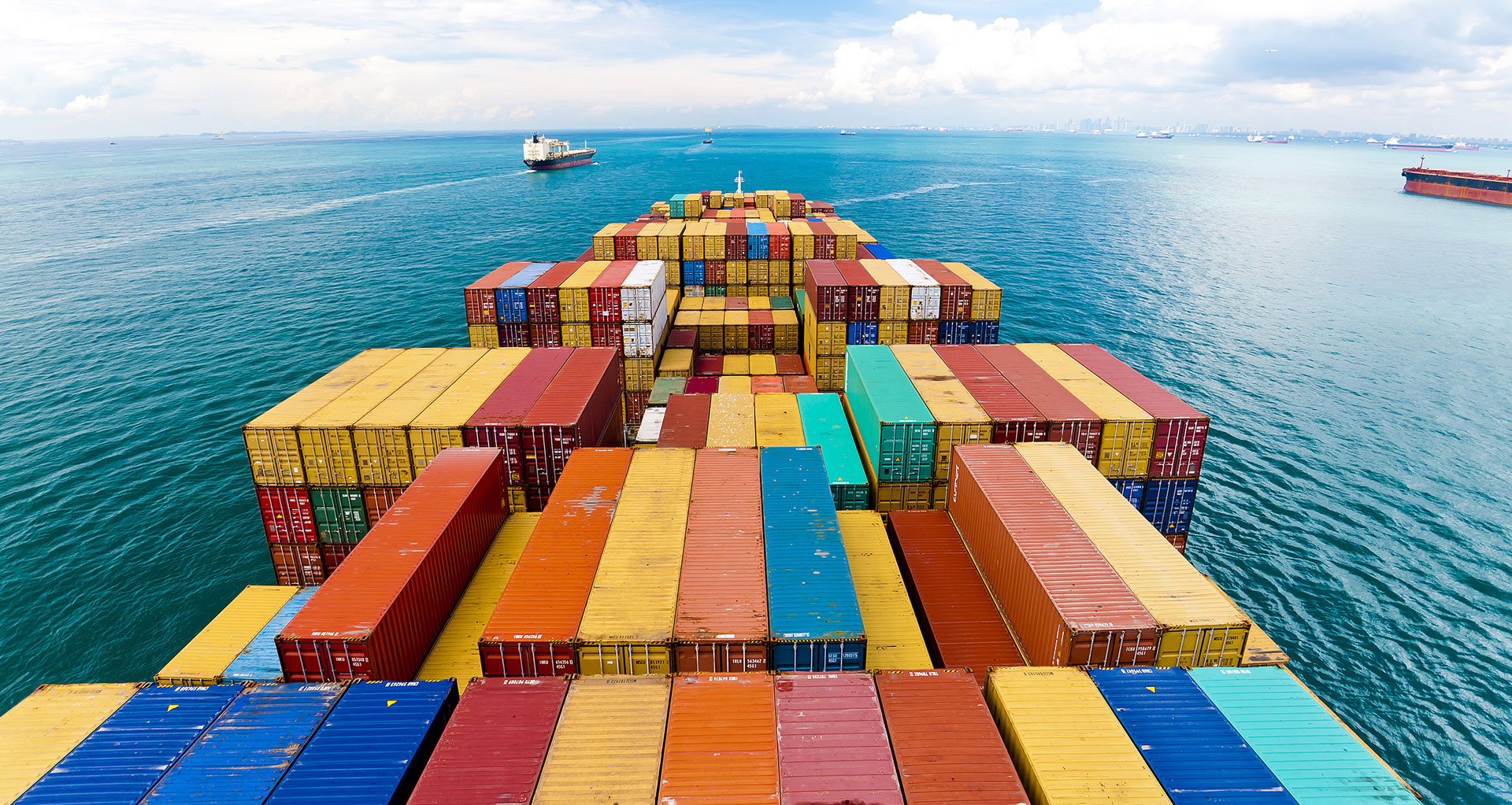 De storingen in Zuid-China en het Suezkanaal kunnen zorgen voor langere vertragingen in de scheepvaart. (Foto Rabobank)