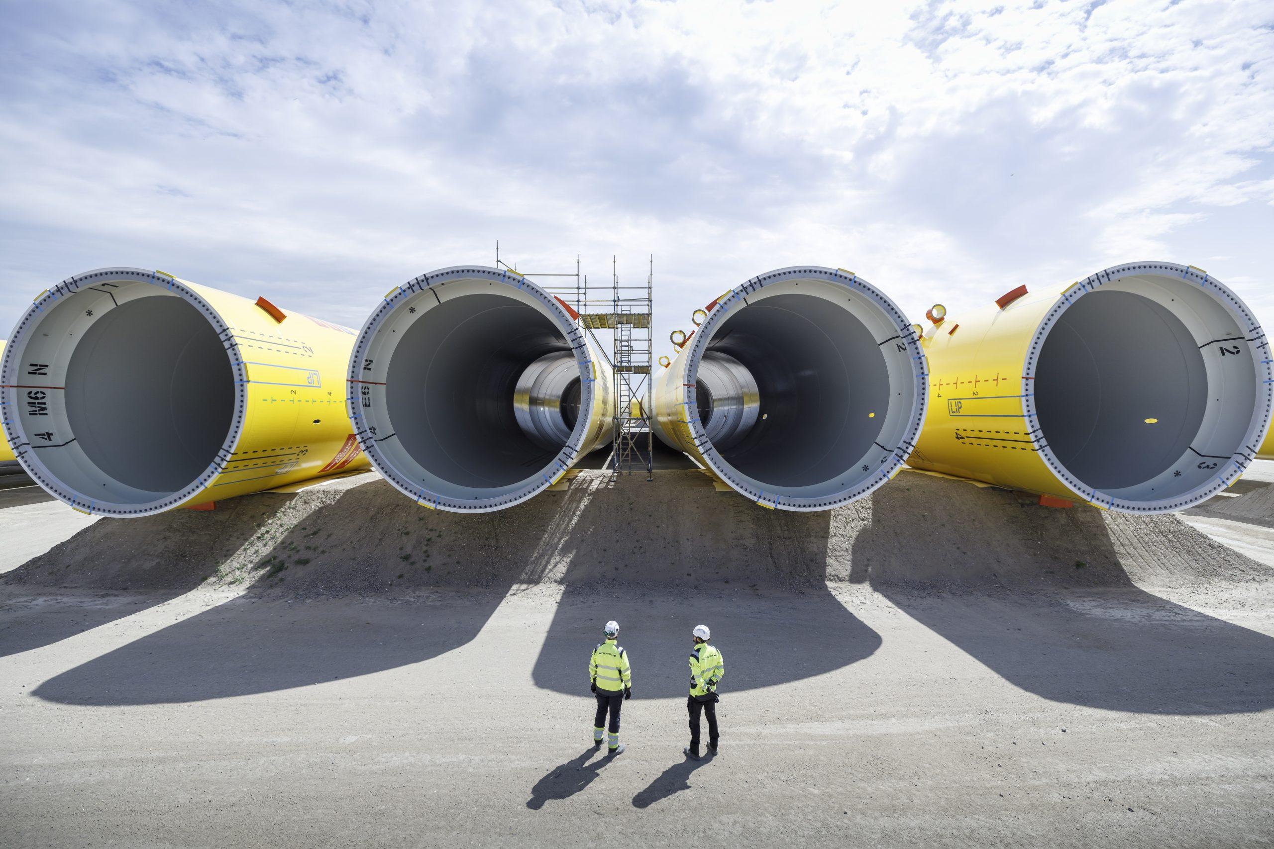 Alles ligt klaar voor de bouw van Hollandse Kust Zuid. (Foto Vattenfall/Jorrit Lousberg)