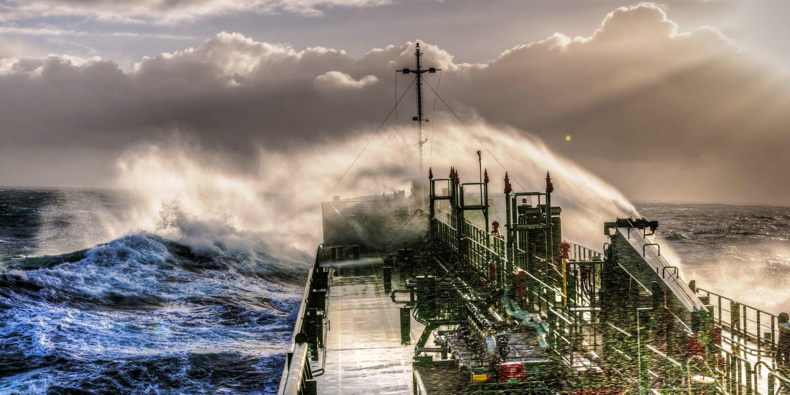 Ook de zeevaart wordt ingepast in het Emission Trade System (ETS), waarin CO2-uitstootrechten worden verhandeld. (Foto KVNR)