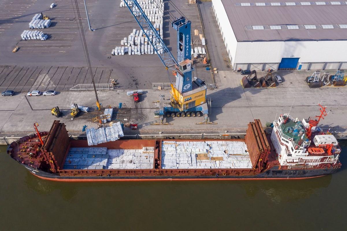 De zeevaart maakte veel goed in North Sea Port, na de grote verliezen in het coronajaar 2020. (Foto North Sea Port)