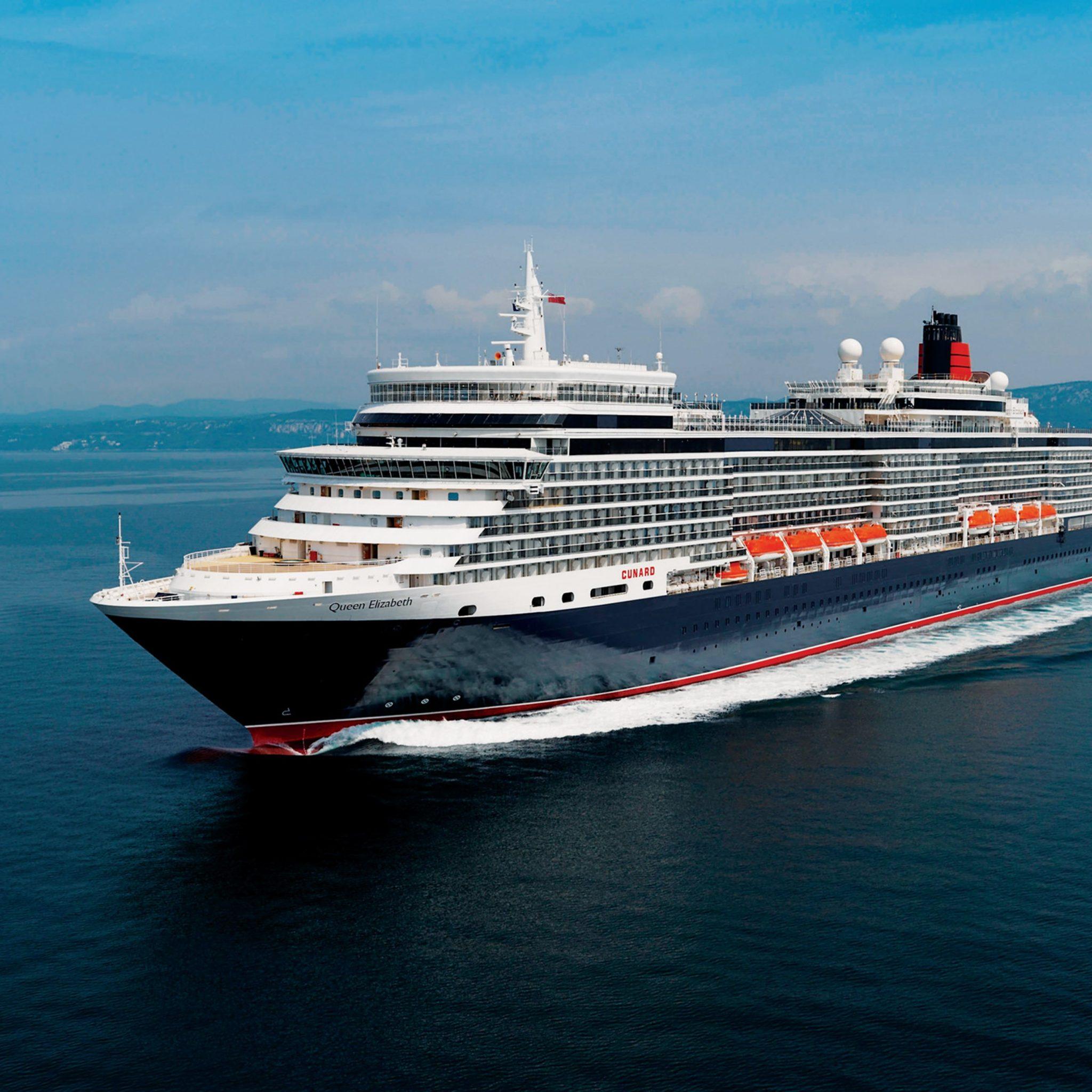Vijf cruises met de Queen Elizabeth zijn afgezegd. (Foto Thalassa Cruises)